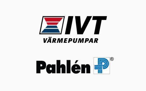 Vi erbjuder värmepumpar från IVT och poolutrustning från Pahlén